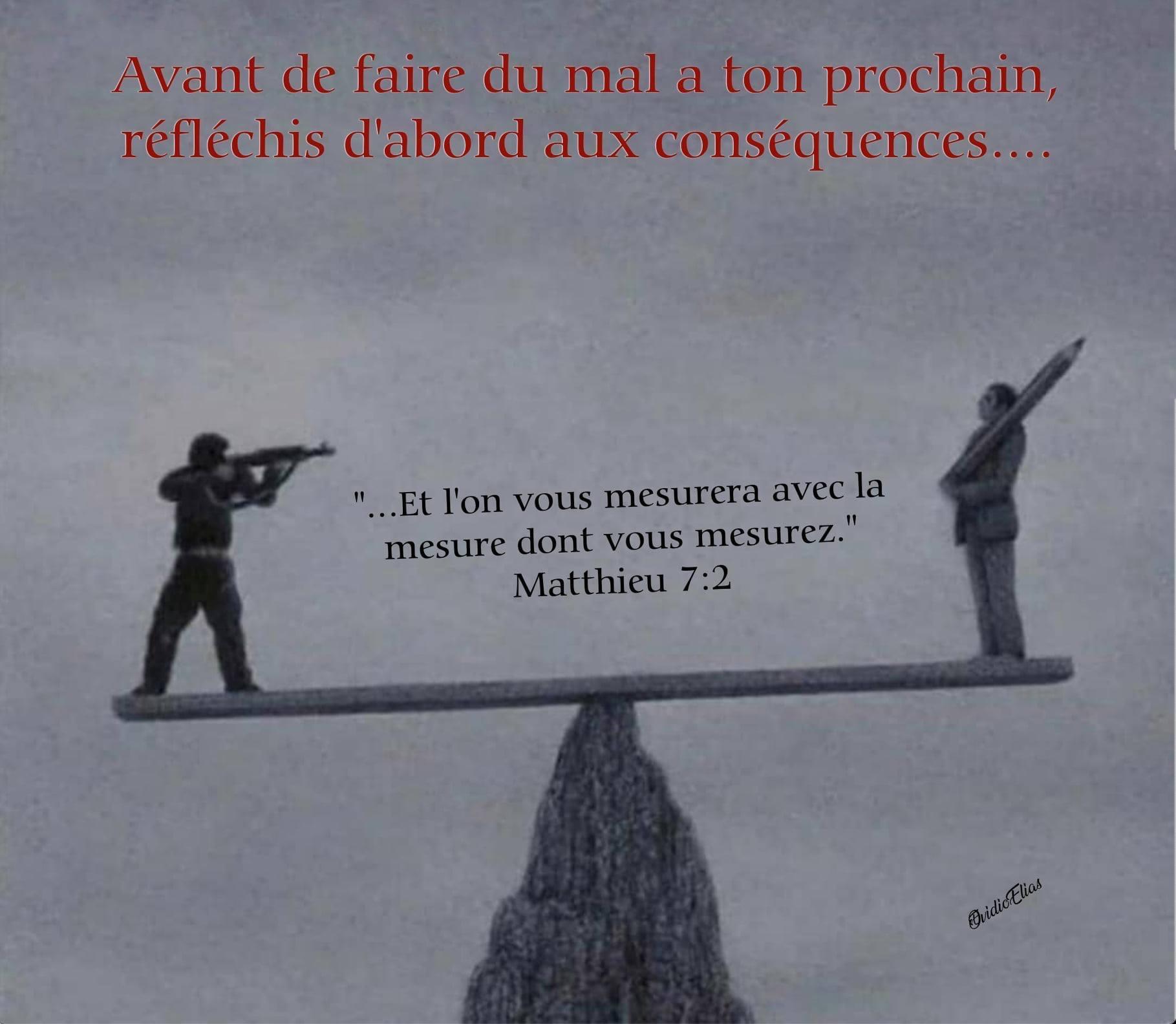 matthieu 7:2